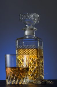 Whisky Glass and Decanter