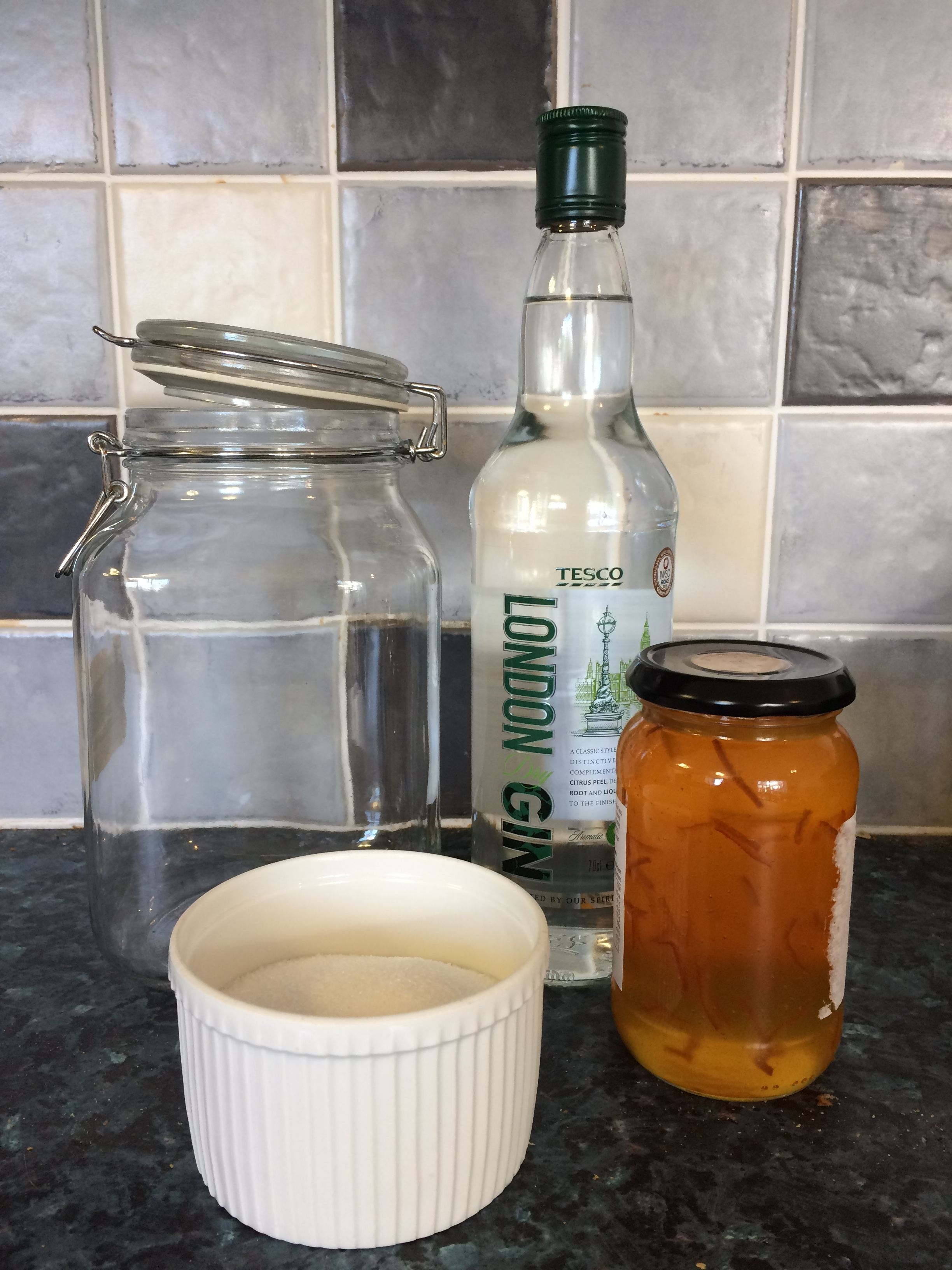 marmalade gin making
