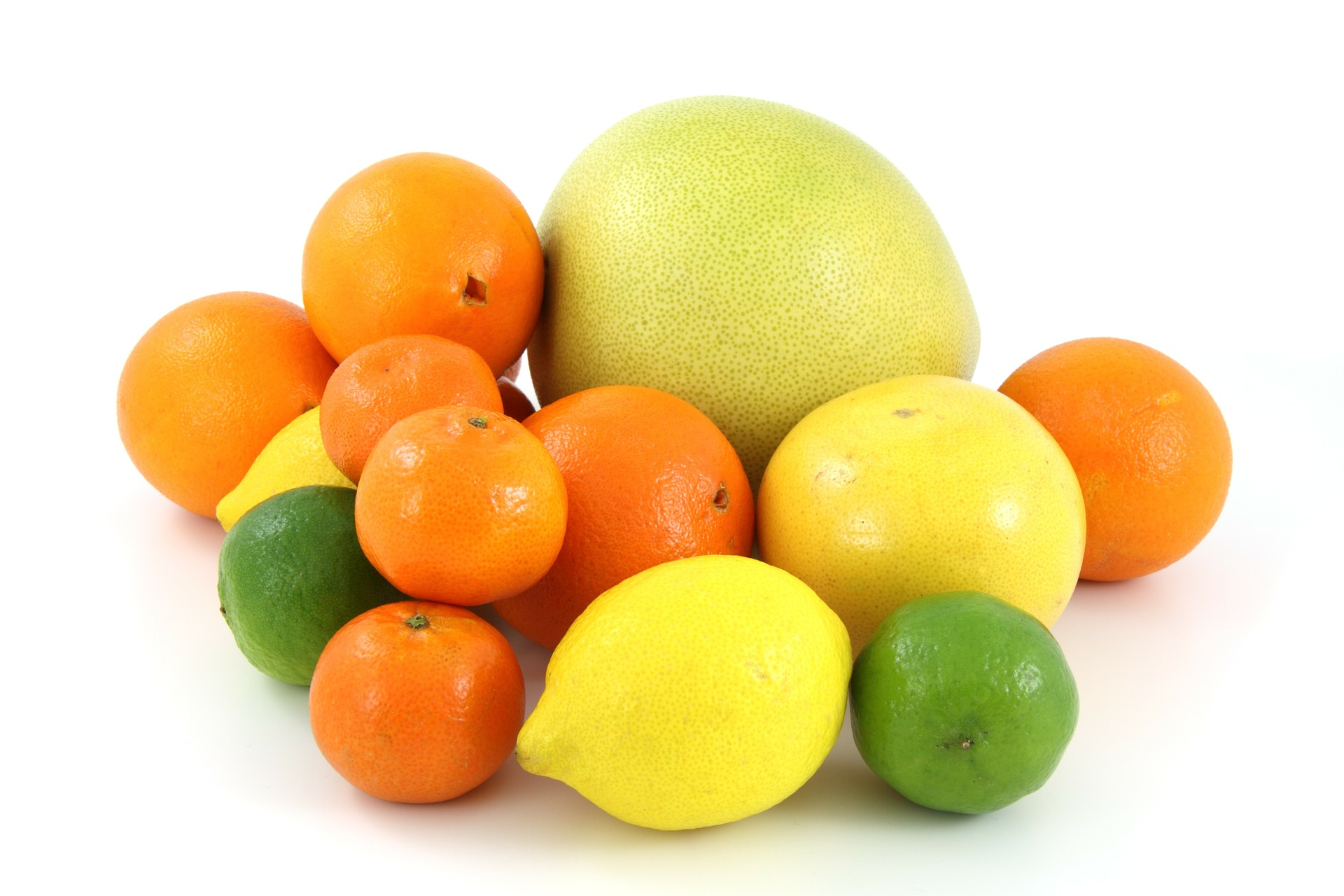 citrus fruit, lemons, limes, oranges and grapefruit