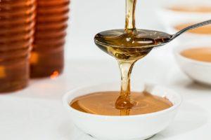 Pure organic runny honey
