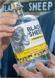 black sheep gin bottle